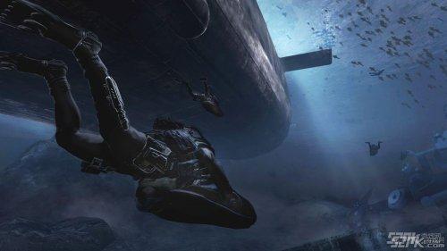 《使命召唤:现代战争3》水下出击