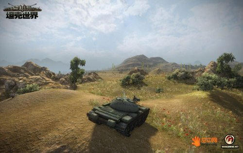 美图大赏!《坦克世界》0.8.4版本全新地图提前亮相