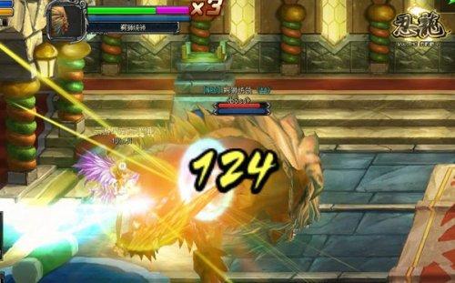 为格斗付出热血 横板冒险《忍龙》打造全新战斗副本