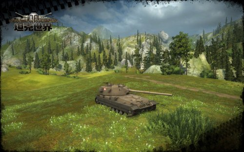《坦克世界》左右45度的射界令FV215b (183)战斗力更强