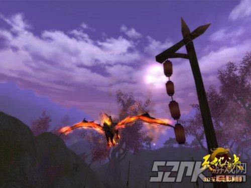 图片04 火焰缠绕的天马