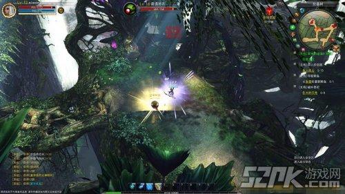 图1:大场景:树影婆娑