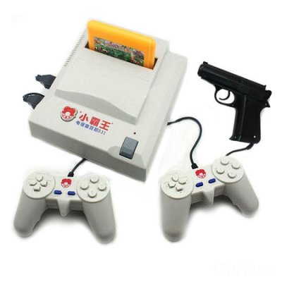 曾经风靡一时的小霸王游戏机