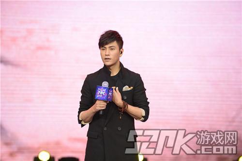 刀剑2代言人陈坤亲临TGC 首发主题歌曲《谁的江湖》