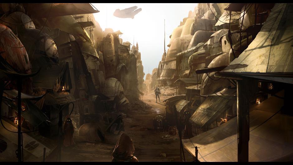 《星球大战1313》新艺术图欣赏 气势磅礴