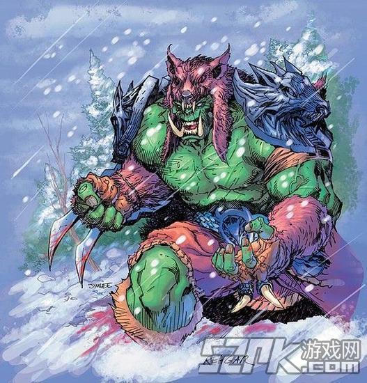 《风暴英雄》新英雄公布 角斗勇者兽人萨满雷加