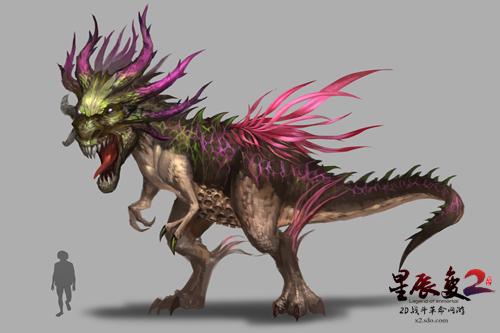 286种绝无重复 《星辰变2》打造最强怪物生态