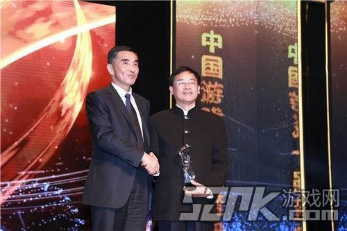 上海市新闻出版局副局长祝君波获2014年度中国游戏产业支持特别奖