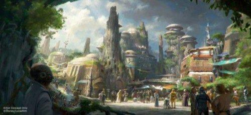 登上千年隼号!迪士尼将建《星球大战》主题公园