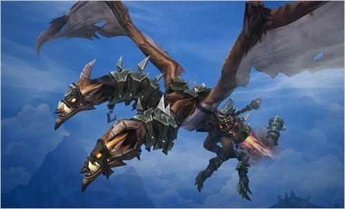 《魔兽世界》6.2.2补丁上线:德拉诺可以飞咯