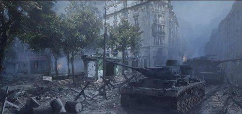 《坦克世界》全新震撼CG预告 巴黎上演坦克大战