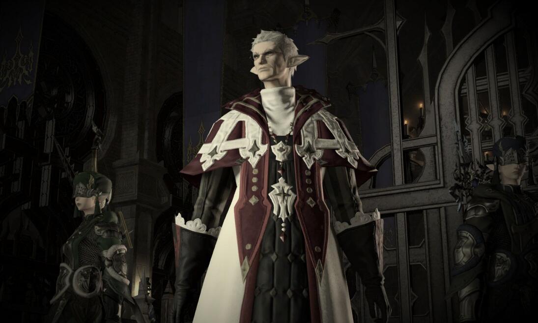 《最终幻想14》新资料片新图曝光 光与暗的境界