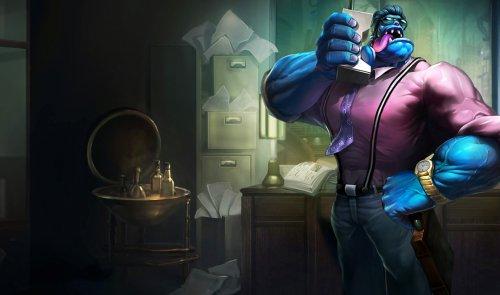 LOL蒙多制作幕后探秘 还记得他是个外科医生吗?