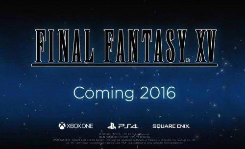 《最终幻想15》游戏总监:将于三月公布发售时间