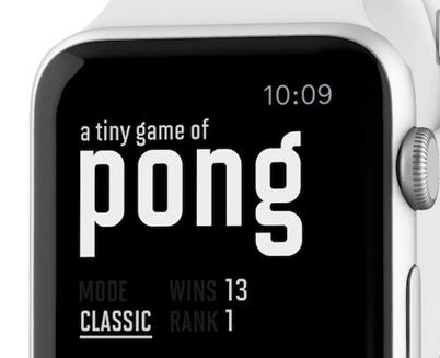 世界上第一款家用电子游戏登上Apple Watch