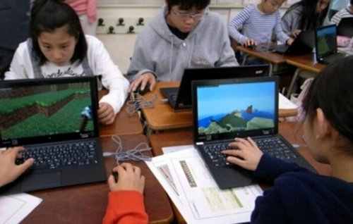 日本首用《我的世界教育版》展开教学课 自己设计街道