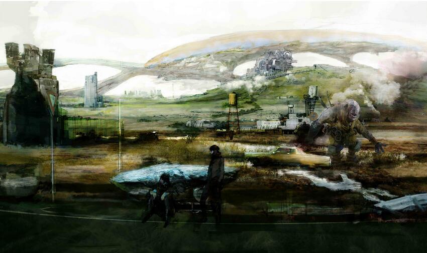 《最终幻想15》概念原画欣赏 最美奇幻美景