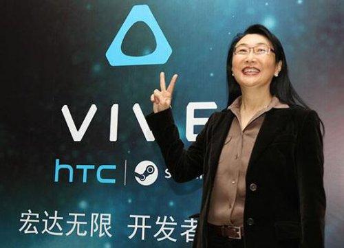 HTC董事长王雪红:VR业务将拆分成独立子公司