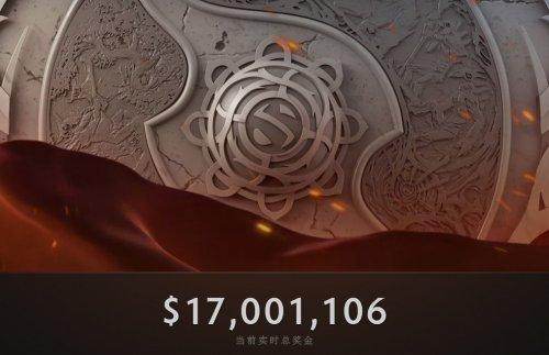 《Dota2》Ti6奖金破1700万美金 四大纯正一步之遥