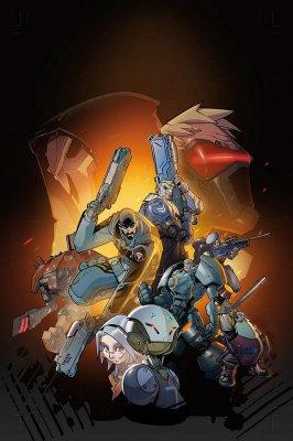 《守望先锋》艺术设定和图像小说预计将在2017年发售