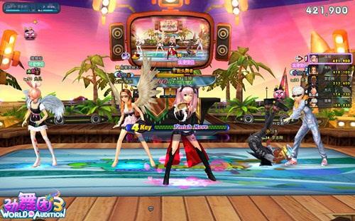 《劲舞团3》双新模式迸发 自由舞步搭配炸裂鼓点
