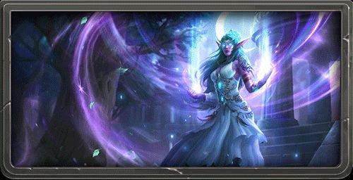 《炉石传说》新英雄上线 话唠月之女祭司泰兰德