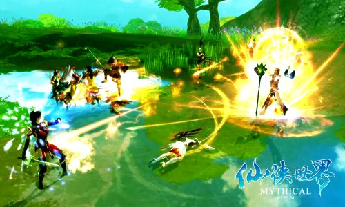 一本多玩《仙侠世界》好玩不过炼心岛
