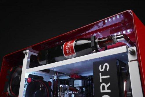 可口可乐推出超炫电竞主机Rush 1ofONE 神创意!