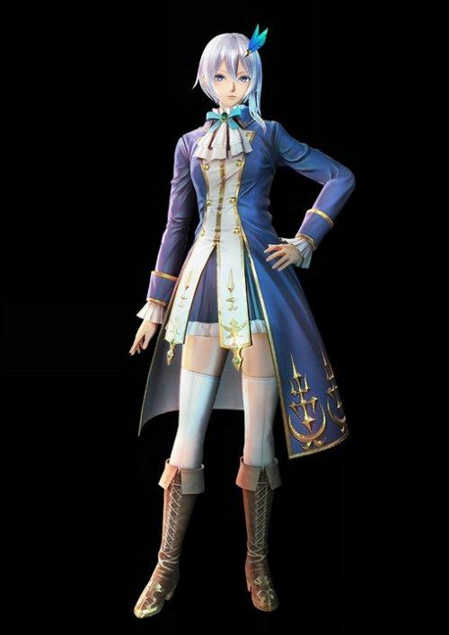 《战场女武神:苍蓝革命》截图介绍新角色
