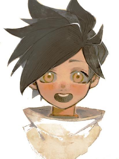 《守望先锋》英雄童年同人图鉴赏 小美从小爱学习