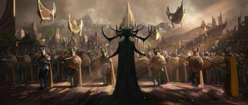 《复仇者联盟3》概念图疑似曝光 死亡女神登场