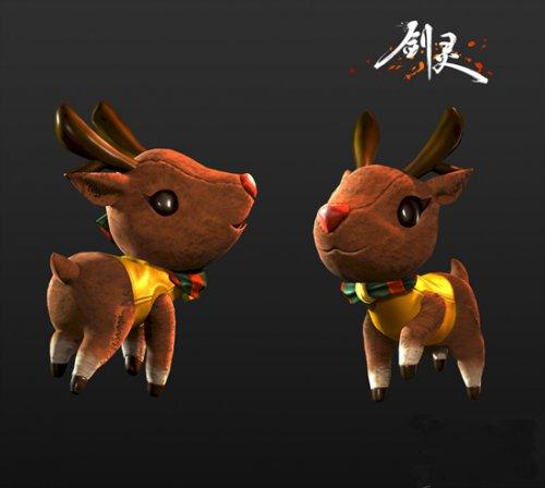 《剑灵》韩服曝光2016圣诞时装 新伙伴麋鹿公开