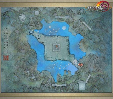 云湖地图扩大中场