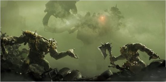 《战锤40K:战争黎明3》新CG预告 军阀戈古兹登场