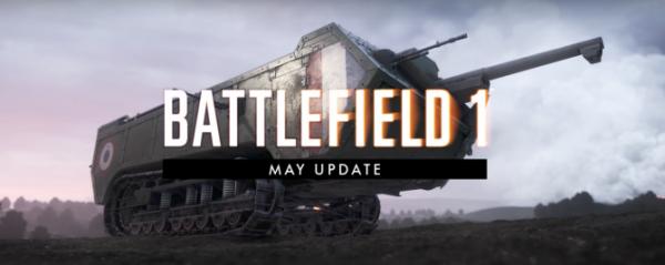 《战地1》5月份更新 匹配机制以及武器调整