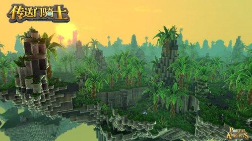 《传送门骑士》魔幻雨林