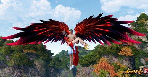 《仙侠世界2》结婚系统双人飞行与双人坐骑首曝!