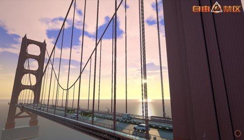玩家你亲爱的夫君复刻现实建筑金门大桥