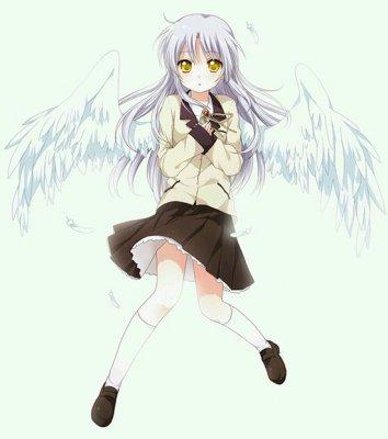 《幻想全明星》中挥着翅膀的女孩