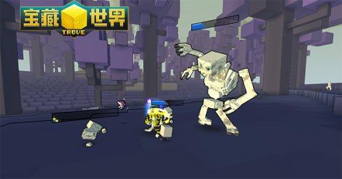 《宝藏世界》墓灵术师巨型骷髅与小骷髅可以共存战斗